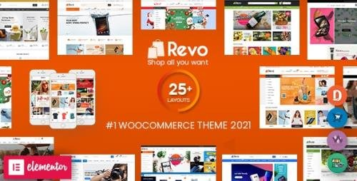 ThemeForest - Revo v3.9.12 - Multipurpose Elementor WooCommerce WordPress Theme (25+ Homepages & 5+ Mobile Layouts) - 18276186 -