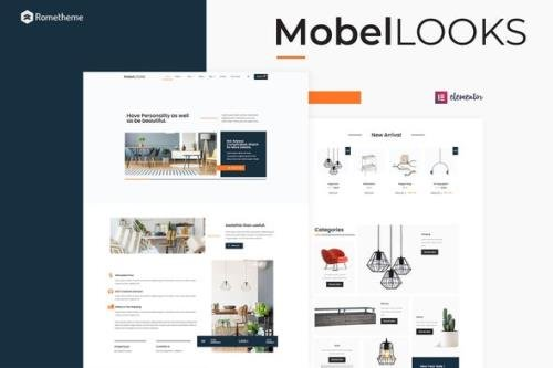 ThemeForest - Mobel Looks v1.0.02 - Furniture Store WooCommerce Elementor Template Kit - 30144441
