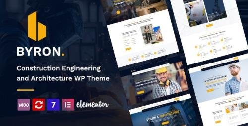 ThemeForest - Byron v1.3 - Construction and Engineering WordPress Theme - 28520387