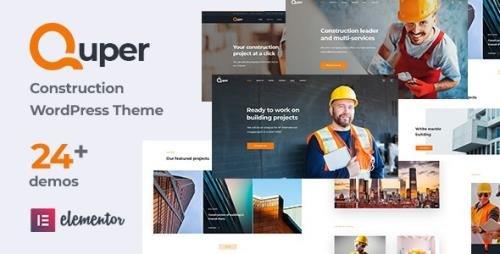 ThemeForest - Quper v1.4 - Construction and Architecture WordPress Theme - 29101039