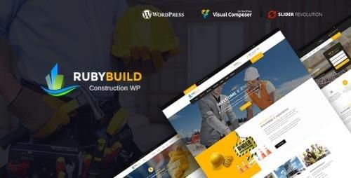 ThemeForest - RubyBuild v1.8 - Building & Construction WordPress Theme - 20766884