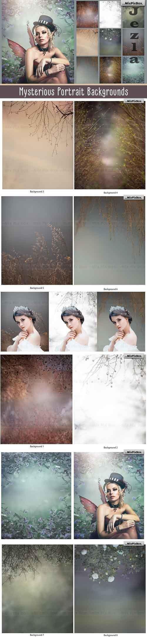 Mysterious Portrait Backgrounds - 5814886