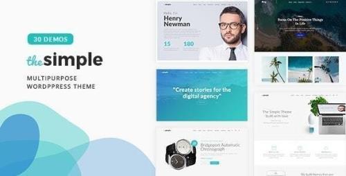 ThemeForest - The Simple v2.5.6 - Business WordPress Theme - 18406495