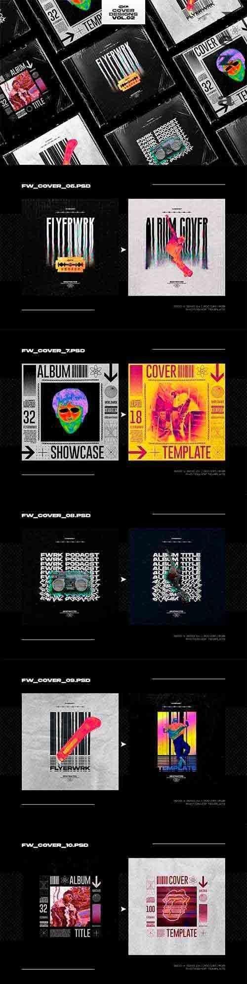 CreativeMarket - Cover Design Templates Vol.2 5680118