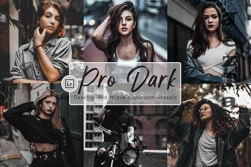 8 Pro Dark Mobile and Desktop LRM Presets - 1170640