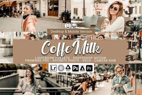 Coffe Milk Presets,PHSP actions 5689373