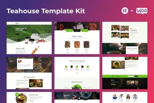 ThemeForest - Tabit v1.0.2 - Teahouse & Tea Store Elementor Template Kit - 29296840