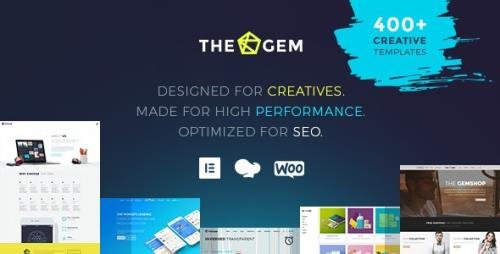 ThemeForest - TheGem v4.6.0 - Creative Multi-Purpose High-Performance WordPress Theme - 16061685 -