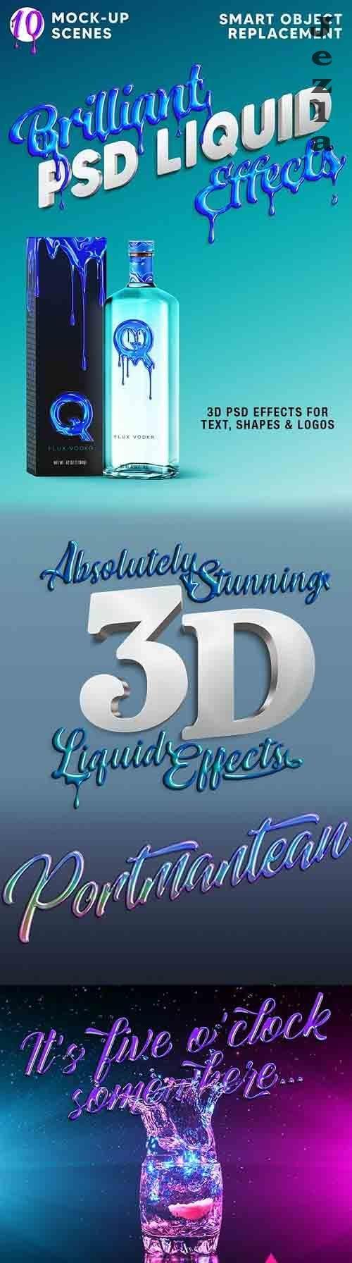 GraphicRiver - Brilliant 3D Liquid Effects 29944215