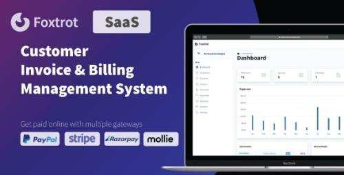 CodeCanyon - Foxtrot SaaS v1.0.2 - Customer, Invoice and Expense Management System - 29916758