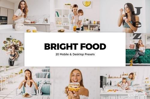 20 Bright Food LRM Presets - 5827601