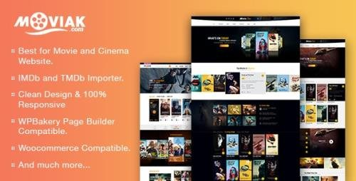 ThemeForest - AmyMovie v3.5.1 - Movie and Cinema WordPress Theme - 18936937