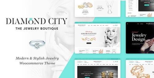 ThemeForest - DiCi v1.0.17 - Jewelry Shop WordPress Theme - 20946998