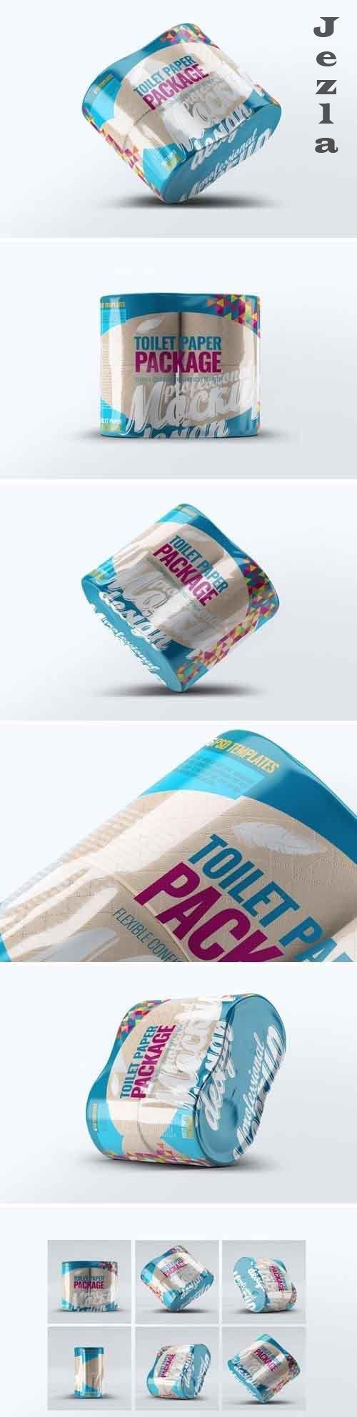 Toilet Paper Package Mock-Up