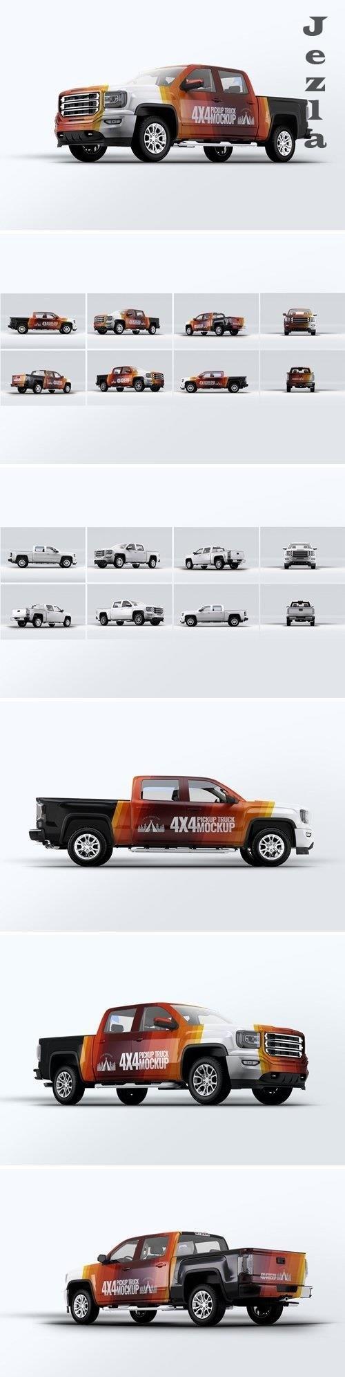 Truck 4X4 Mock-Up - HJ43RB3