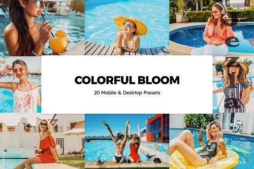 20 Colorful Bloom LRM Presets - 5836123