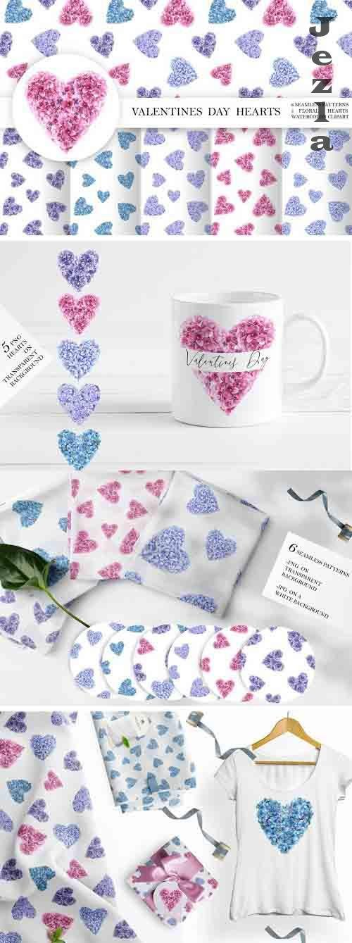 Valentines Day Hearts - 1158179