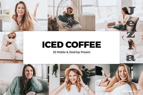 20 Iced Coffee LRM Preset LUTs - 5842198