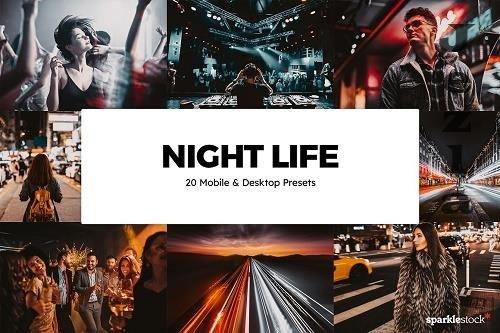 20 Night Life LRM Presets LUTs - 5859547