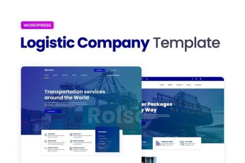 ThemeForest - Rolso v1.0.0 - Logistic Company Elementor Template Kit - 30291144