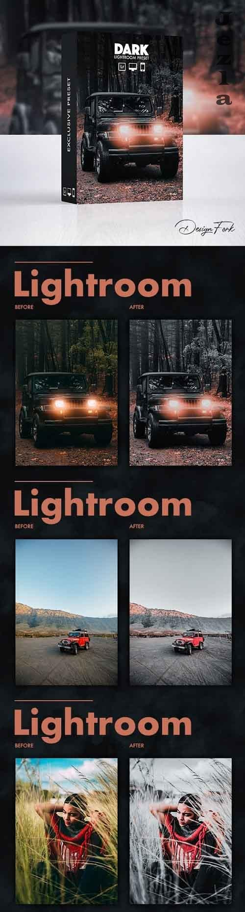 GraphicRiver - Dark Effect - Lightroom Preset 30069192