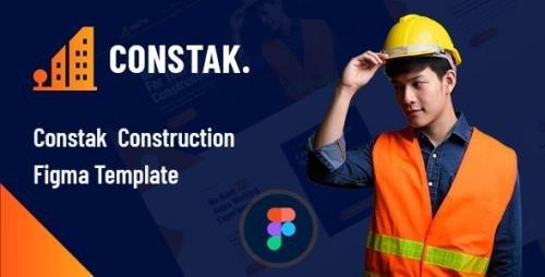 ThemeForest - Constak v1.0 - Construction Figma Template - 29603595