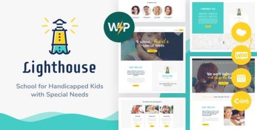 ThemeForest - Lighthouse v1.2.2 - School for Kids with Disabilities & Special Needs WordPress Theme - 20811397