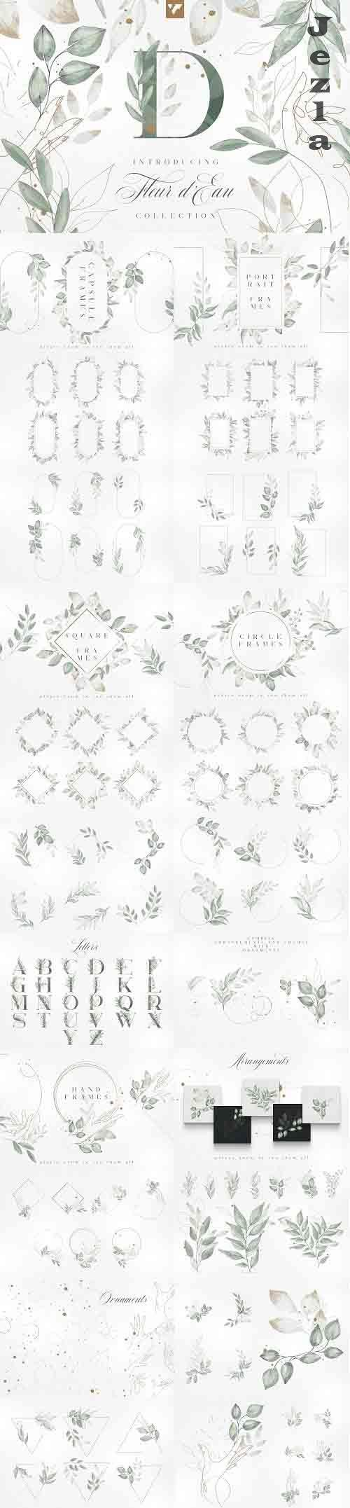 Fleur d'Eau Graphic Collection - 5861118