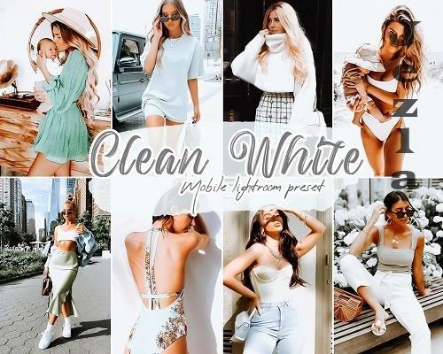 Clean White LRM Presets - 5858827