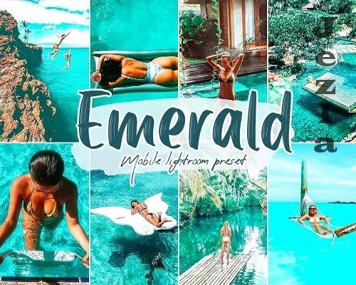 Emerald Lightroom Presets - 5868211
