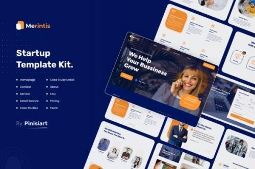 ThemeForest - Merintis v1.0.2 - Startup Elementor Template Kit - 30274042