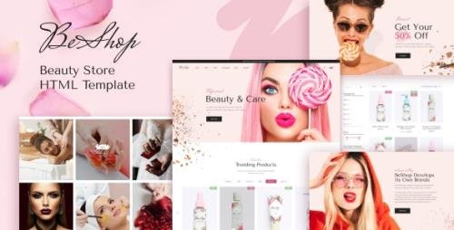 ThemeForest - BeShop v1.0 - Beauty eCommerce HTML Template - 29434337