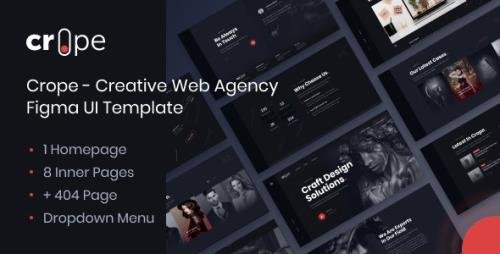 ThemeForest - Crope v1.0 - Creative Web Agency HTML Template - 27403323