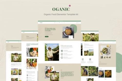 ThemeForest - Oganic v1.0.0 - Organic Food Elementor Template kit - 30232439