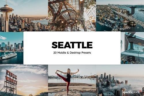 20 Seattle Lightroom Presets & LUTs - 5870679