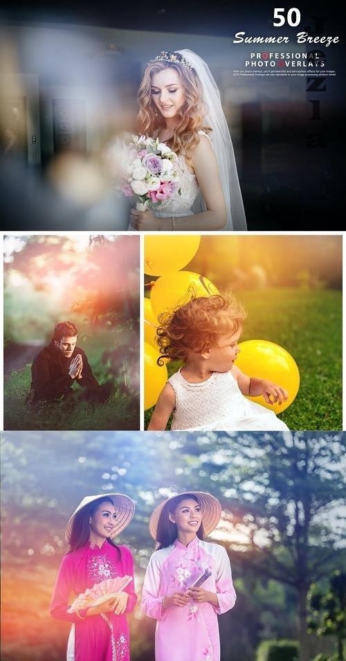 50 Summer Breeze Photo Overlays - 992802
