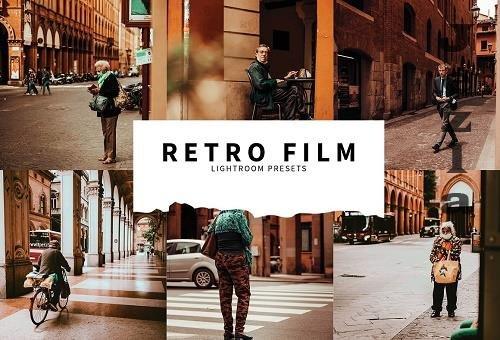 CreativeMarket - 10 Retro Film Lightroom Presets 5787570