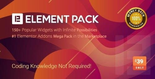 CodeCanyon - Element Pack v5.7.1 - Addon for Elementor Page Builder WordPress Plugin - 21177318 - NULLED