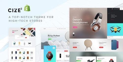 ThemeForest - Cize v1.0.0 - Electronics Store Shopify Theme (Update: 14 July 20) - 25363939
