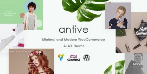 ThemeForest - Antive v1.6.6 - Minimal and Modern WooCommerce AJAX Theme (RTL Supported) - 21964624