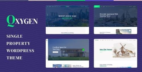 ThemeForest - Qxygen v1.0.1 - Single Property WordPress Theme - 27730137