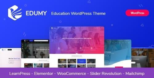 ThemeForest - Edumy v1.1.5 - LMS Online Education Course WordPress Theme - 24177225