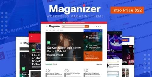 ThemeForest - Maganizer v1.1.7 - Modern Magazine WordPress Theme - 29704714