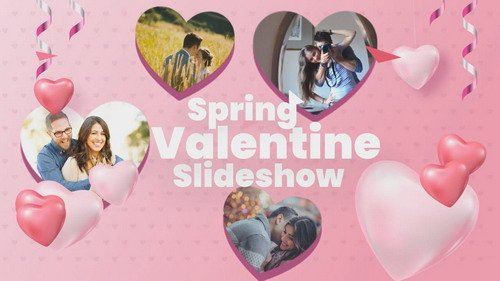 Проект ProShow Producer - Spring Valentine Slideshow