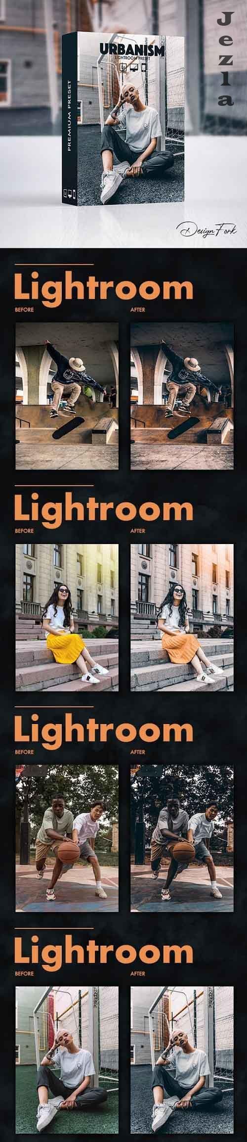 GraphicRiver - Urbanism FX Lightroom Preset 30141897