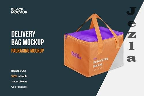 CreativeMarket - Delivery Bag Mockup 5599613