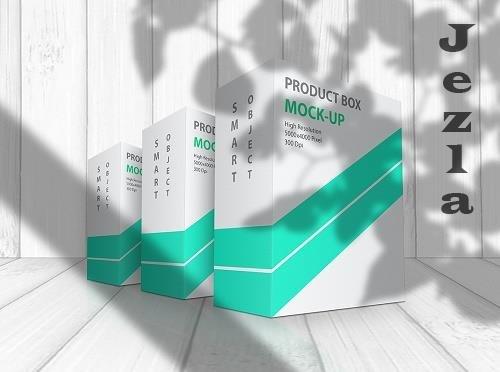 CreativeMarket - Product Box Mock-Up 09 5591844