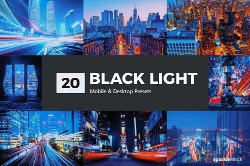 20 Black Light LR Presets - 5323311