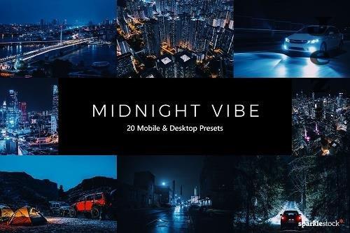 20 Midnight Vibe LR Presets- 5555031