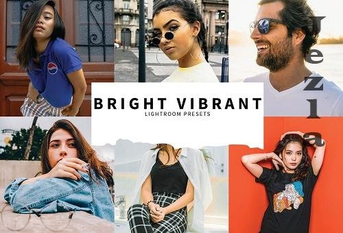 CreativeMarket - 10 Bright Vibrant Lightroom Presets 5808522